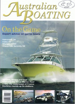 Australian Boating Cover - V1250